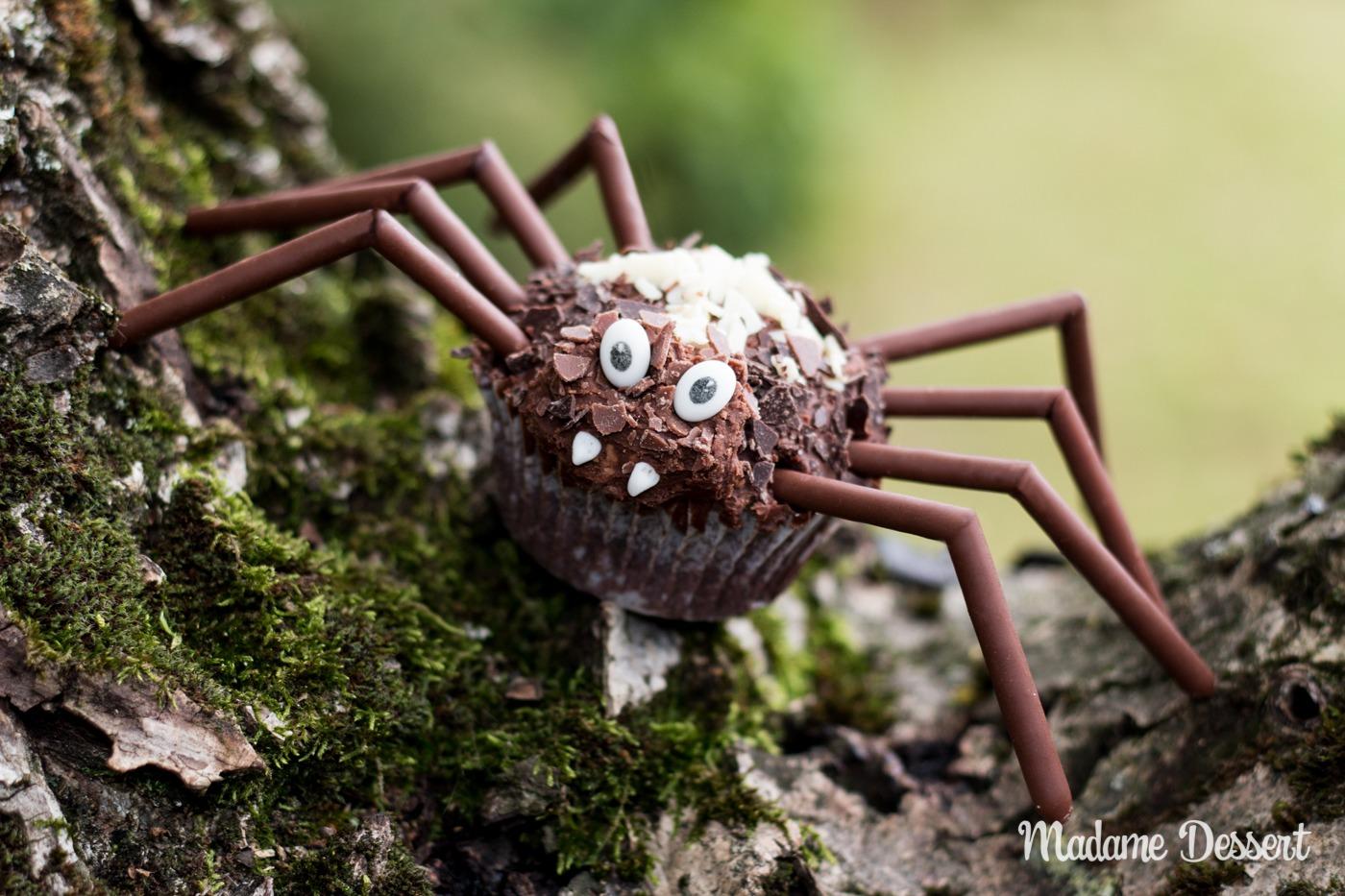 Krabbelige Kreuzspinnen Cupcakes