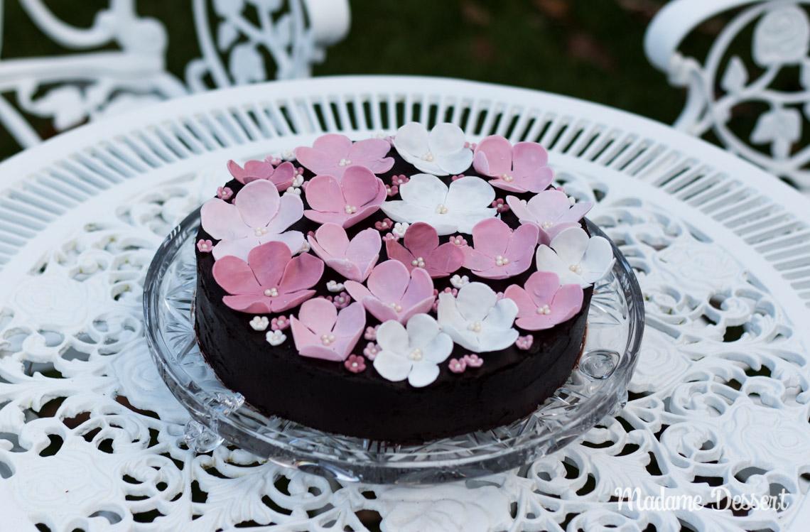 Madame Dessert – Schokoladen-Mandeltorte – Rezept