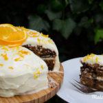 Saftiger Carrotcake mit Citrus-Frosting