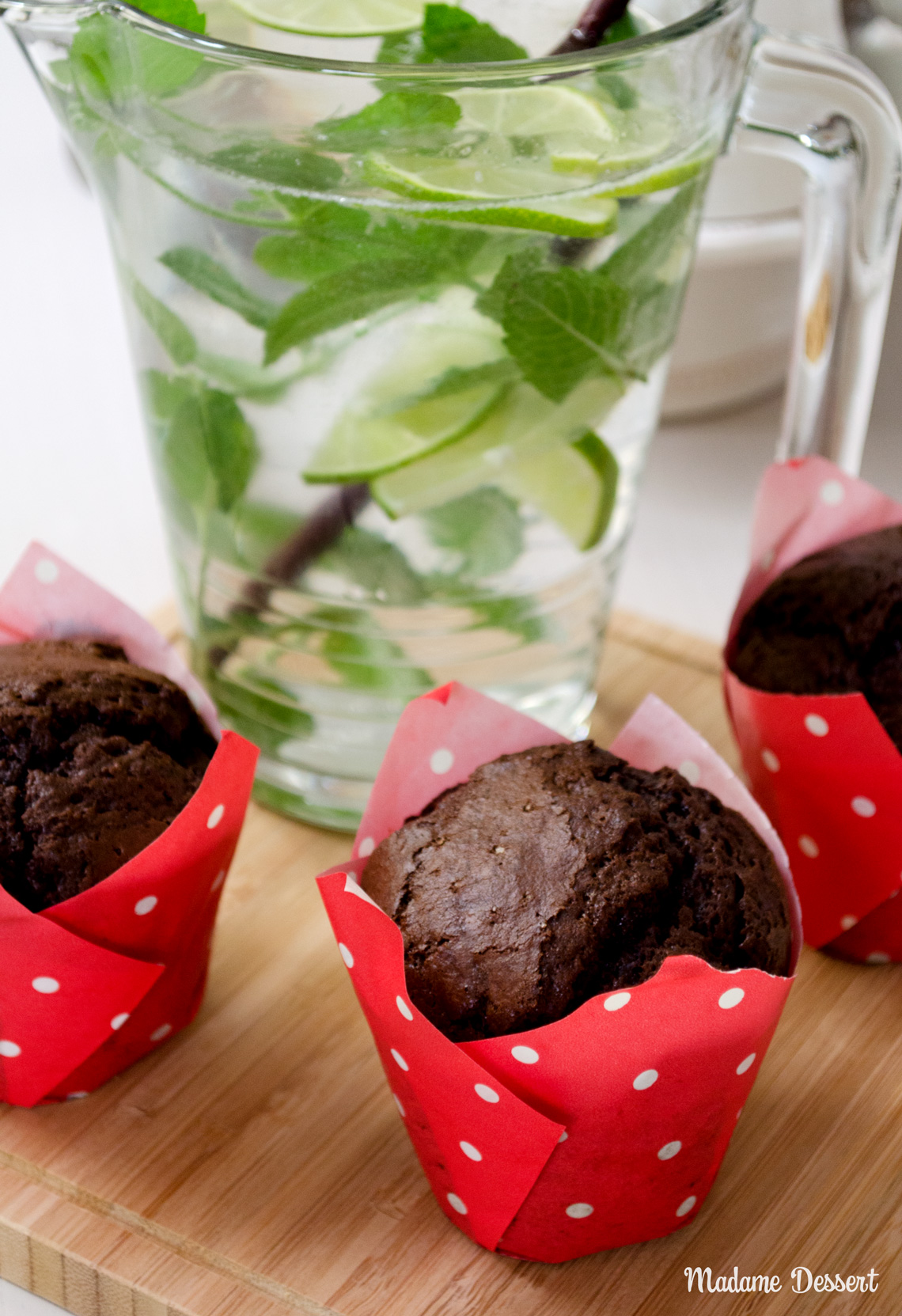 Weltbeste Schokoladenmuffins