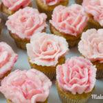 Klitzekleine Rosencupcakes – Die Geschichte einer Königin