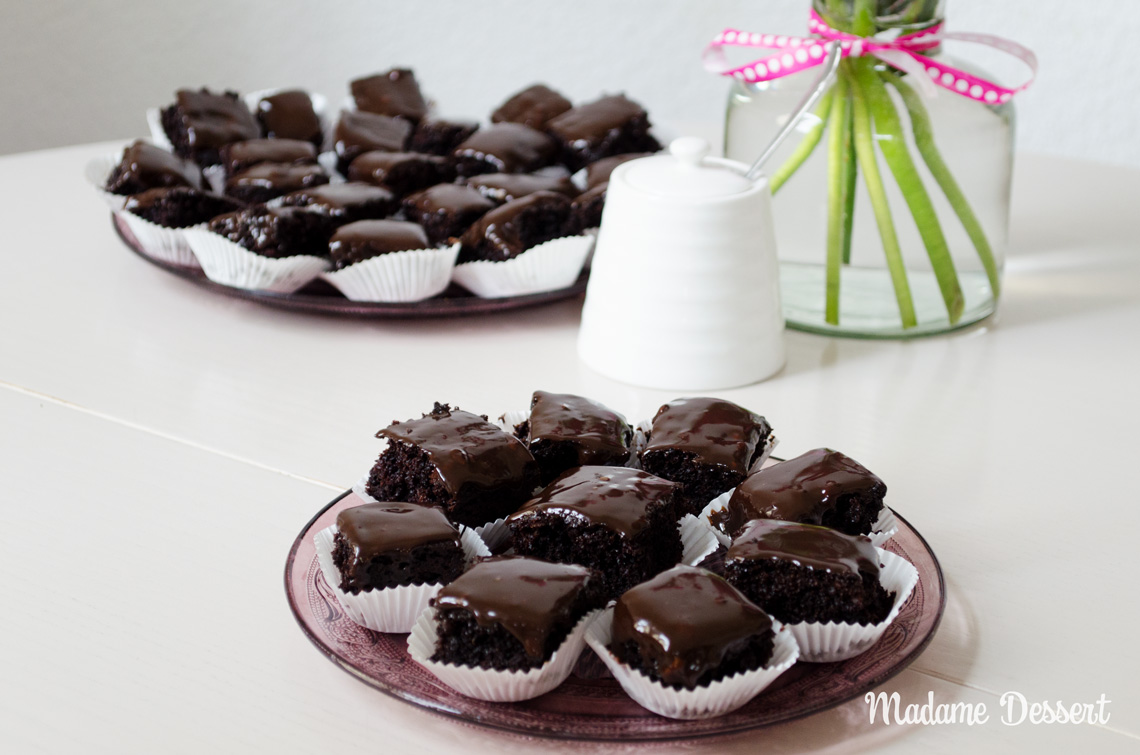 Schokoladige Petit Fours