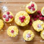Zitronentörtchen mit Lemon Curd und Himbeeren