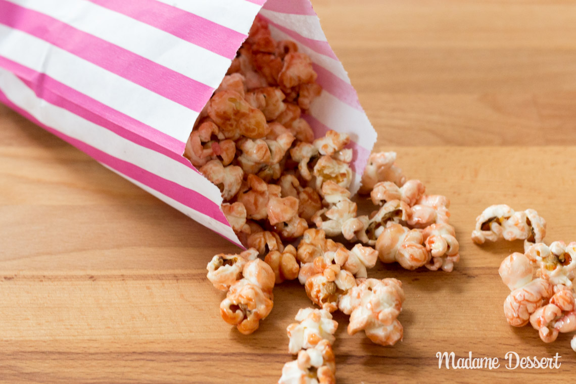Pink Popcorn | Madame Dessert