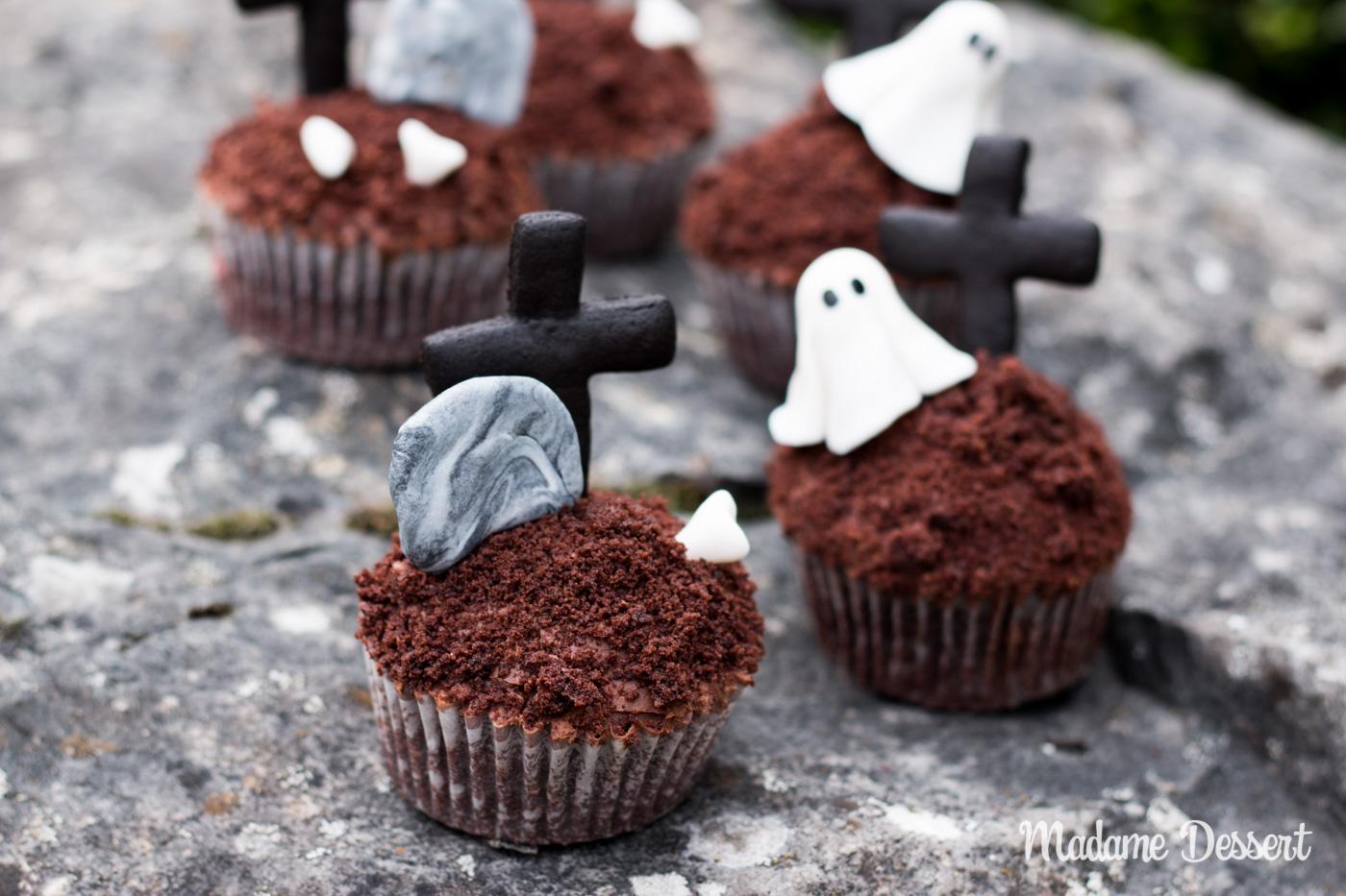 Grabestörtchen | Halloween Rezepte | Madame Dessert