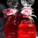 Süßer Rosensirup – Anmutig wie ein Flacon Parfüm
