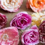 Kandierte Rosenblüten – Ein Fest für die Sinne