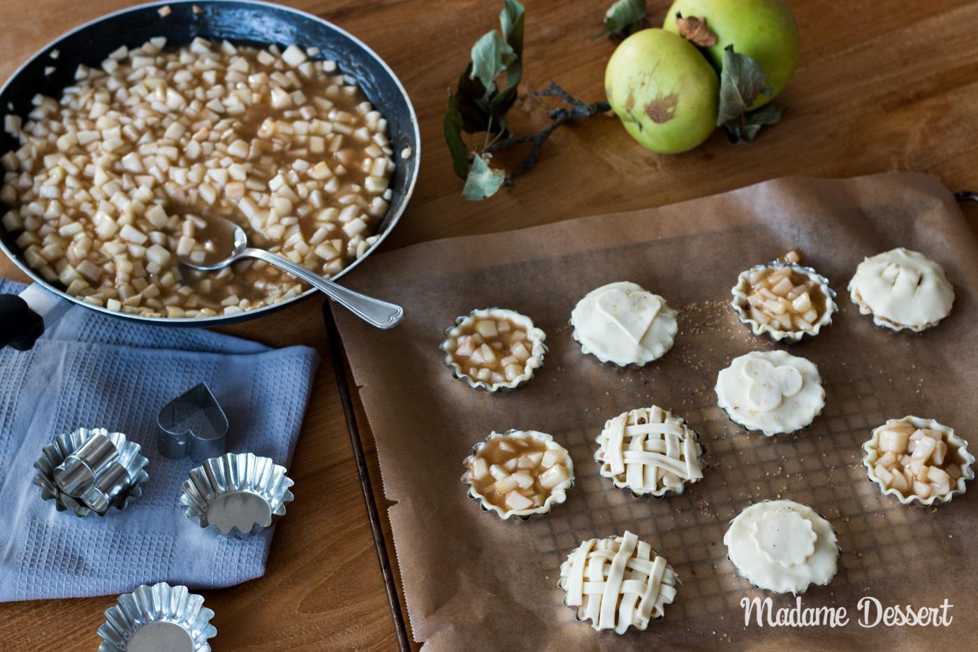 Apfeltaschen | Madame Dessert