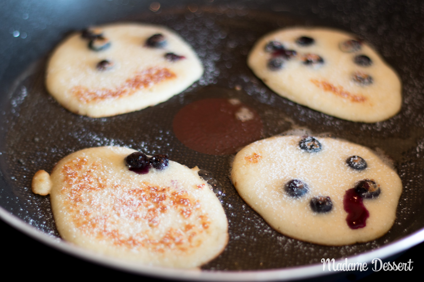 Blueberry Pancakes | Madame Dessert