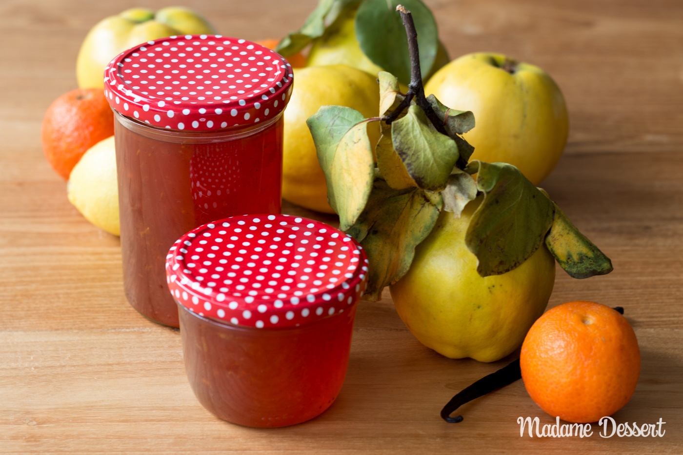 Fruchtiges Quittengelee mit Mandarinen & Zitronen | Madame Dessert