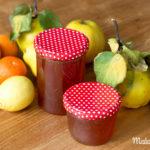 Fruchtiges Quittengelee mit Mandarine & Zitrone