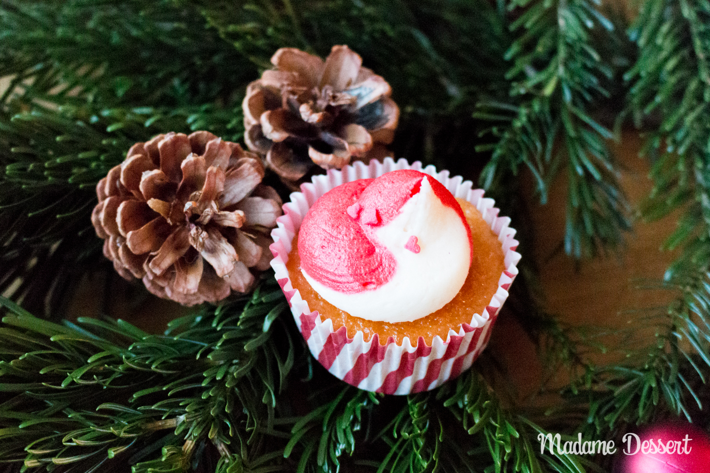 Christmas Cupcakes   Madame Dessert