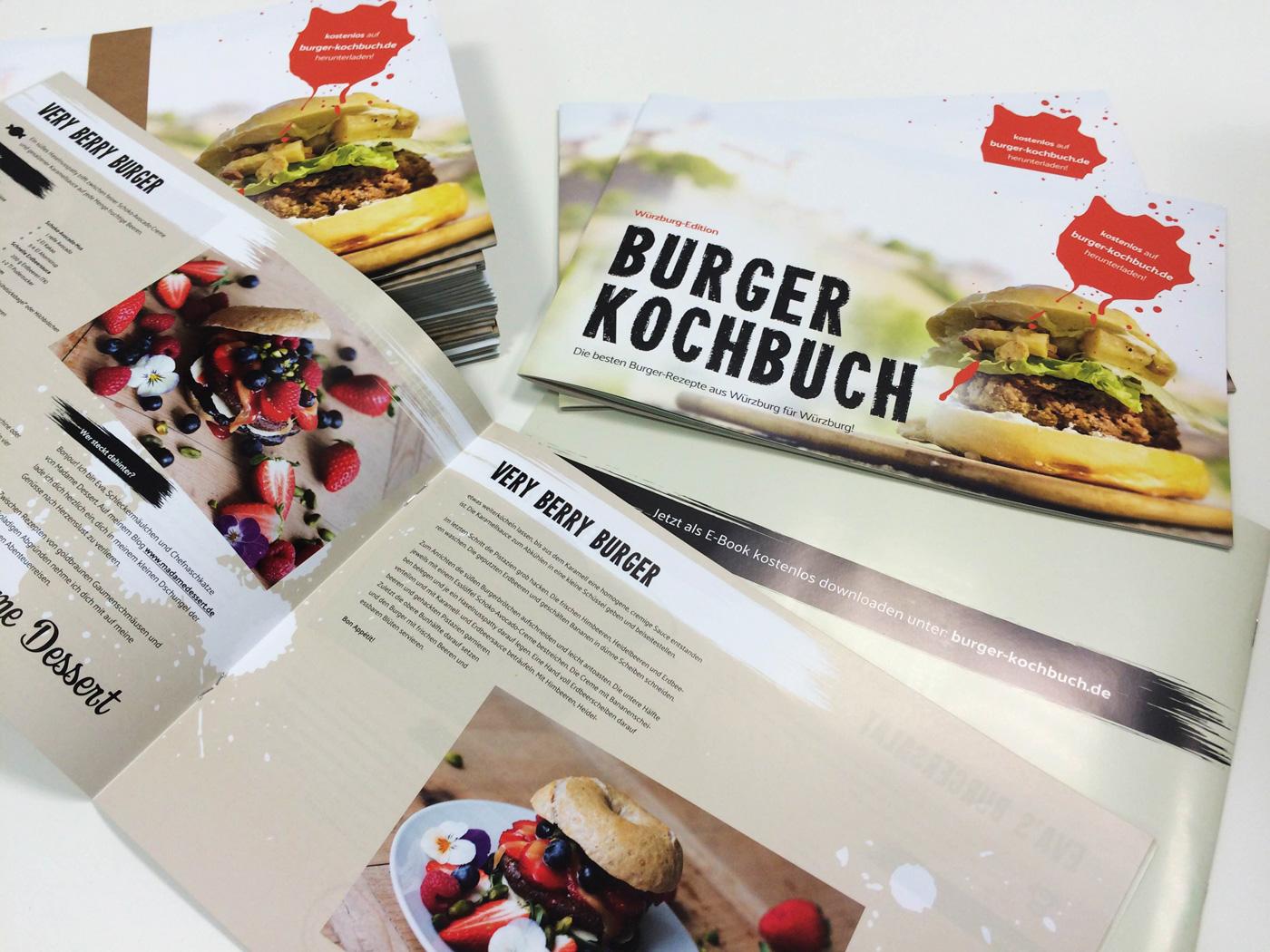 Bloggeburtstag Burger Kochbuch | Madame Dessert