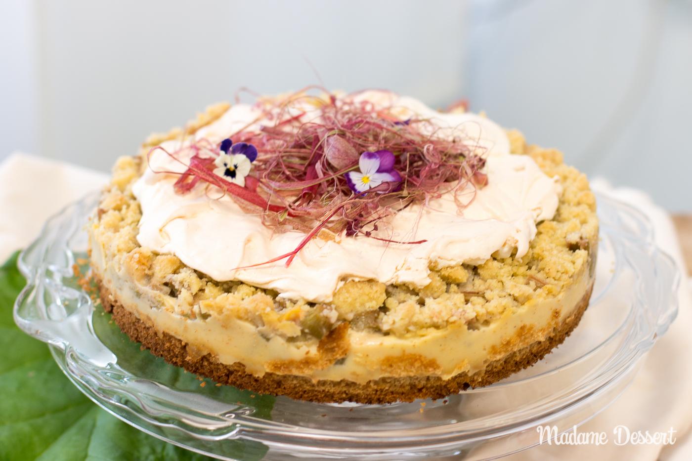 Rhabarberkuchen Cake Off
