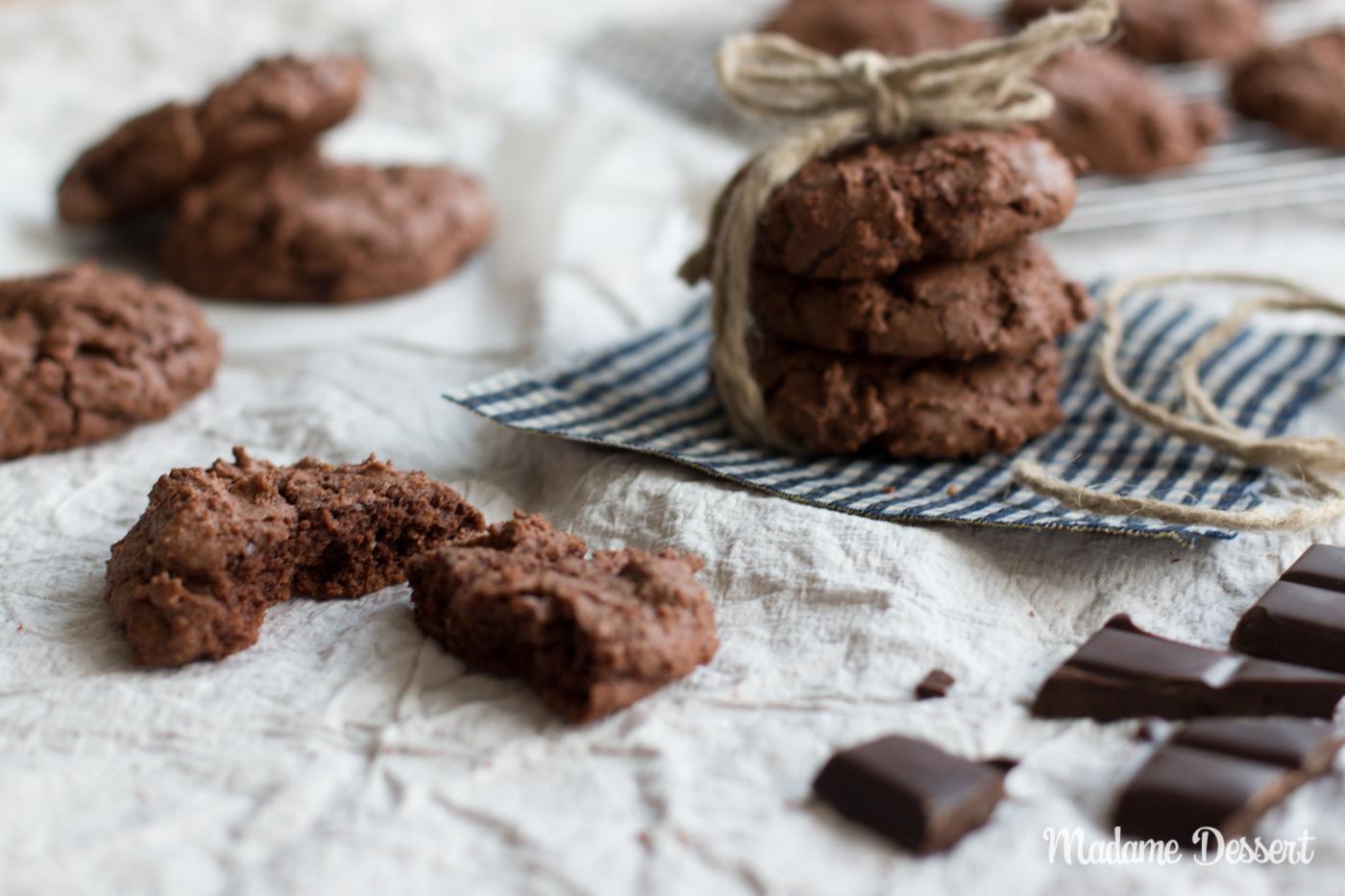 Glutenfreie Nuss Nougat Cookies | Madame Dessert