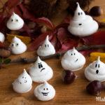 Last Minute Halloween Rezept –Baiser Gespenster