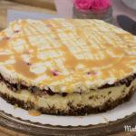 Tarta de queso con dulce de leche von Le Coq & la Poule | Rezept zum CheeseCakeOff
