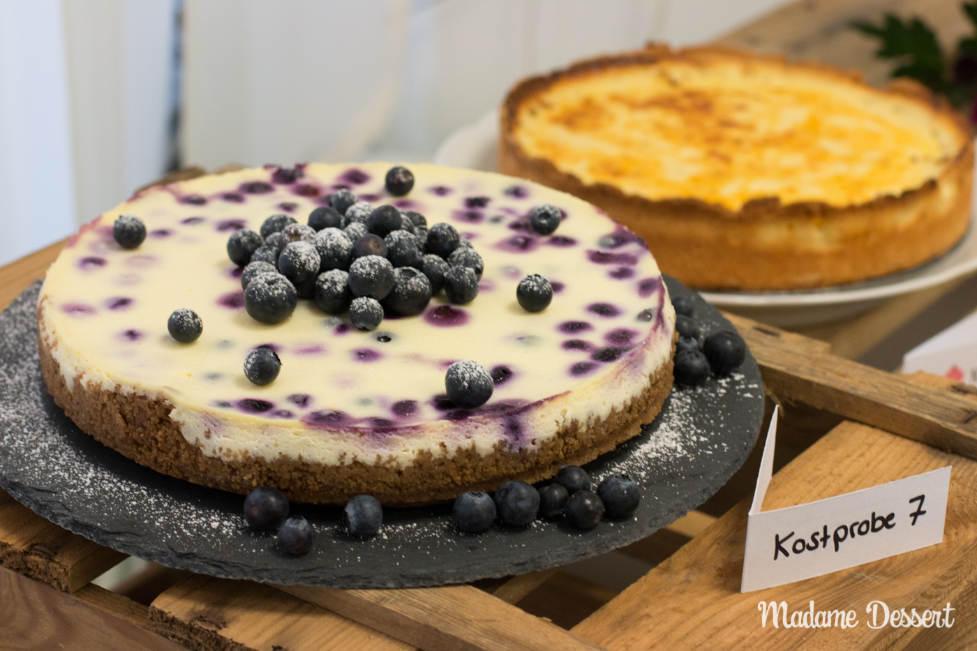 CheeseCakeOff – Käsekuchen & Cheesecake Variationen | Madame Dessert