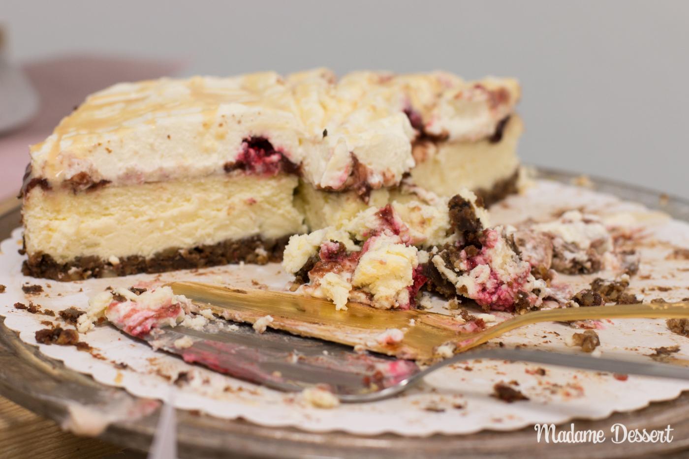 CheeseCakeOff – Käsekuchen & Cheesecake Variationen | Tarta de queso con dulce de leche | Madame Dessert