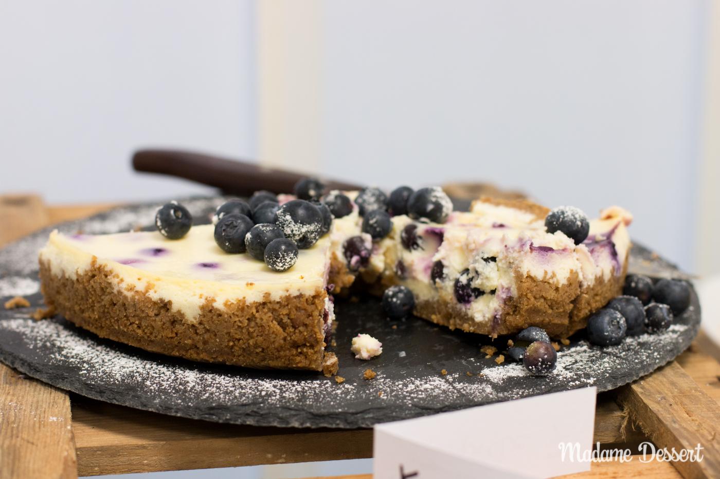 CheeseCakeOff – Käsekuchen & Cheesecake Variationen | blueberry and lemon | Madame Dessert