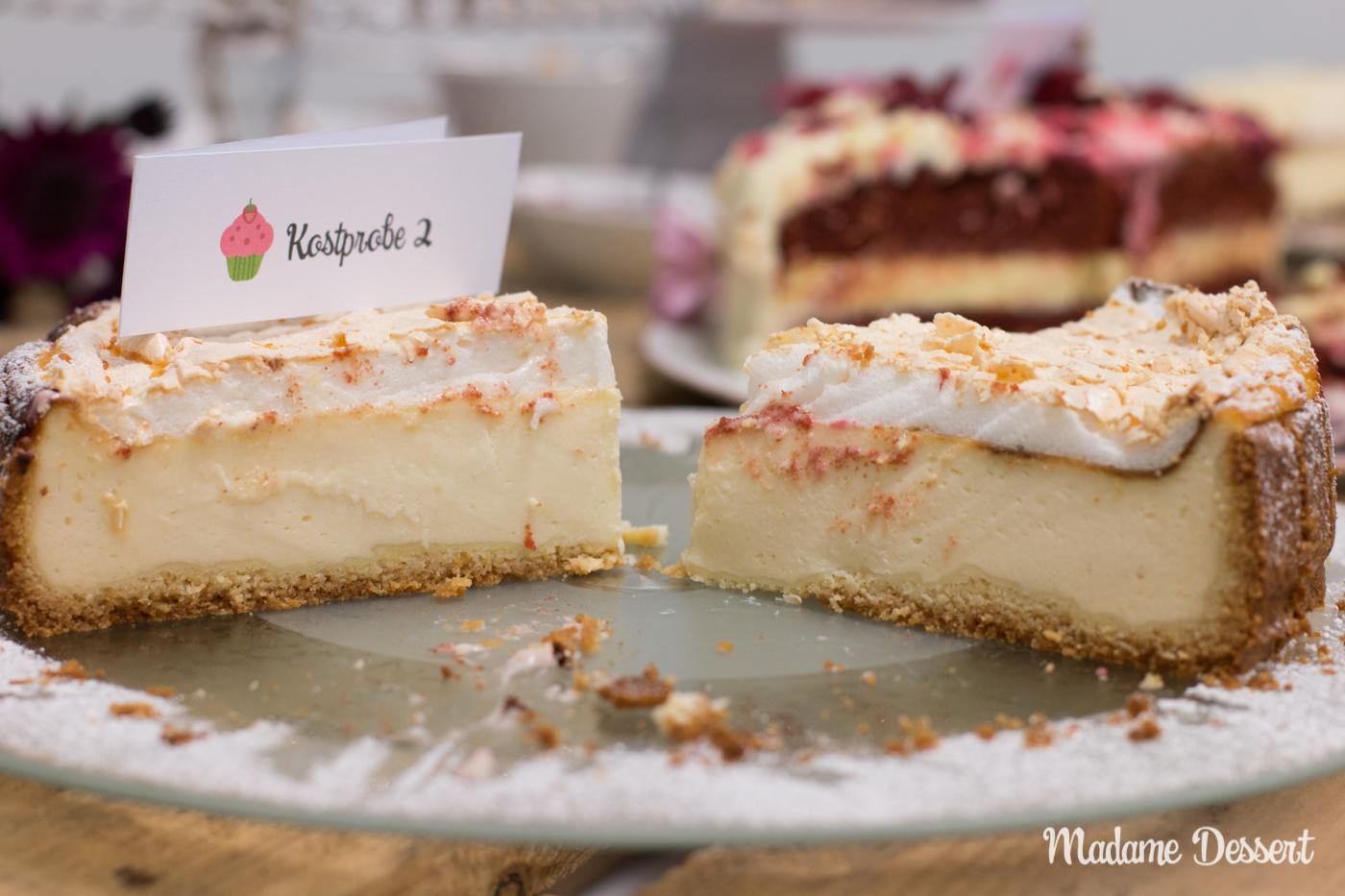 CheeseCakeOff – Käsekuchen & Cheesecake Variationen | Goldtröpfchen | Madame Dessert