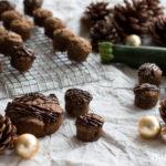 Vegane Lebkuchen Happen mit Chia & Zucchini