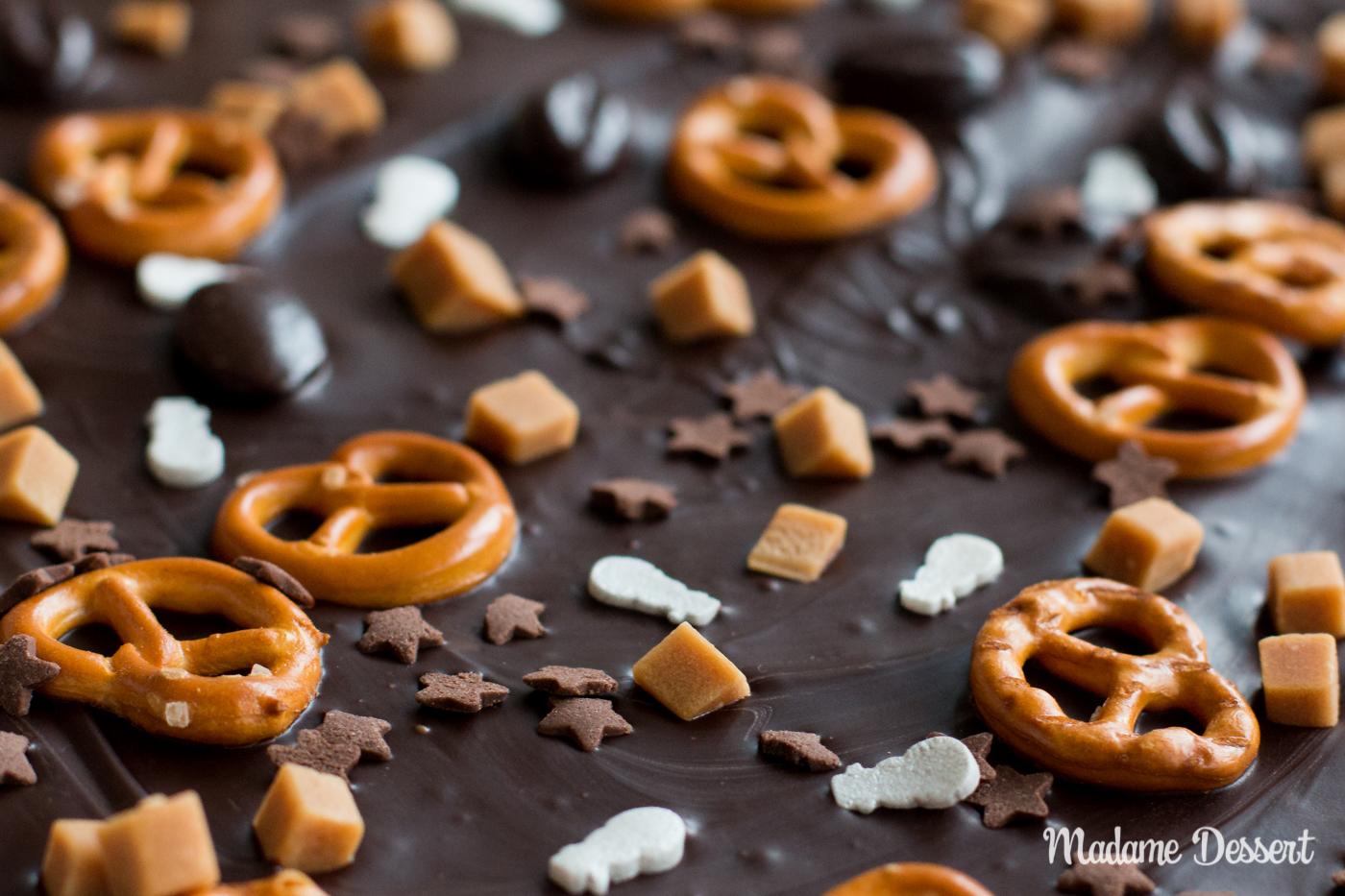 Süße Geschenkidee: Selbstgemachte Bruchschokolade | Madame Dessert