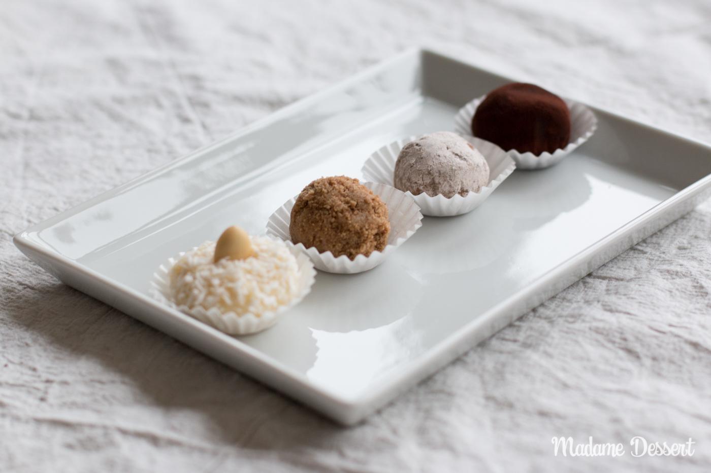 Selbstgemachte Pralinen | Madame Dessert