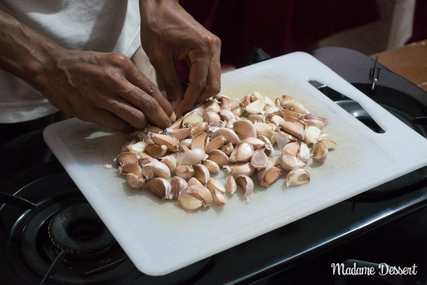 Knoblauch Curry | Sri Lanka | Madame Dessert