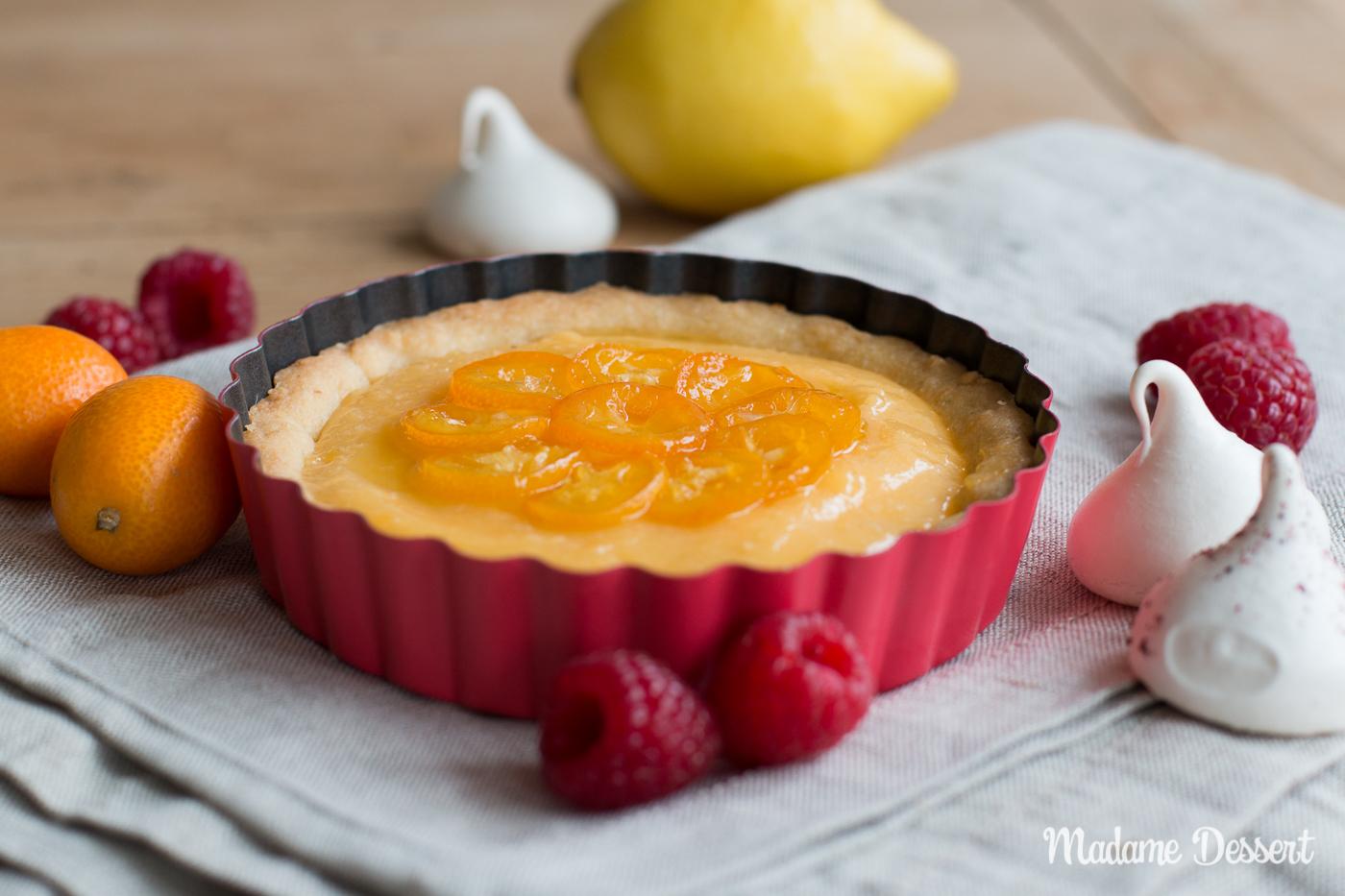 Zitronentartelettes mit Baiserhaube | Madame Dessert