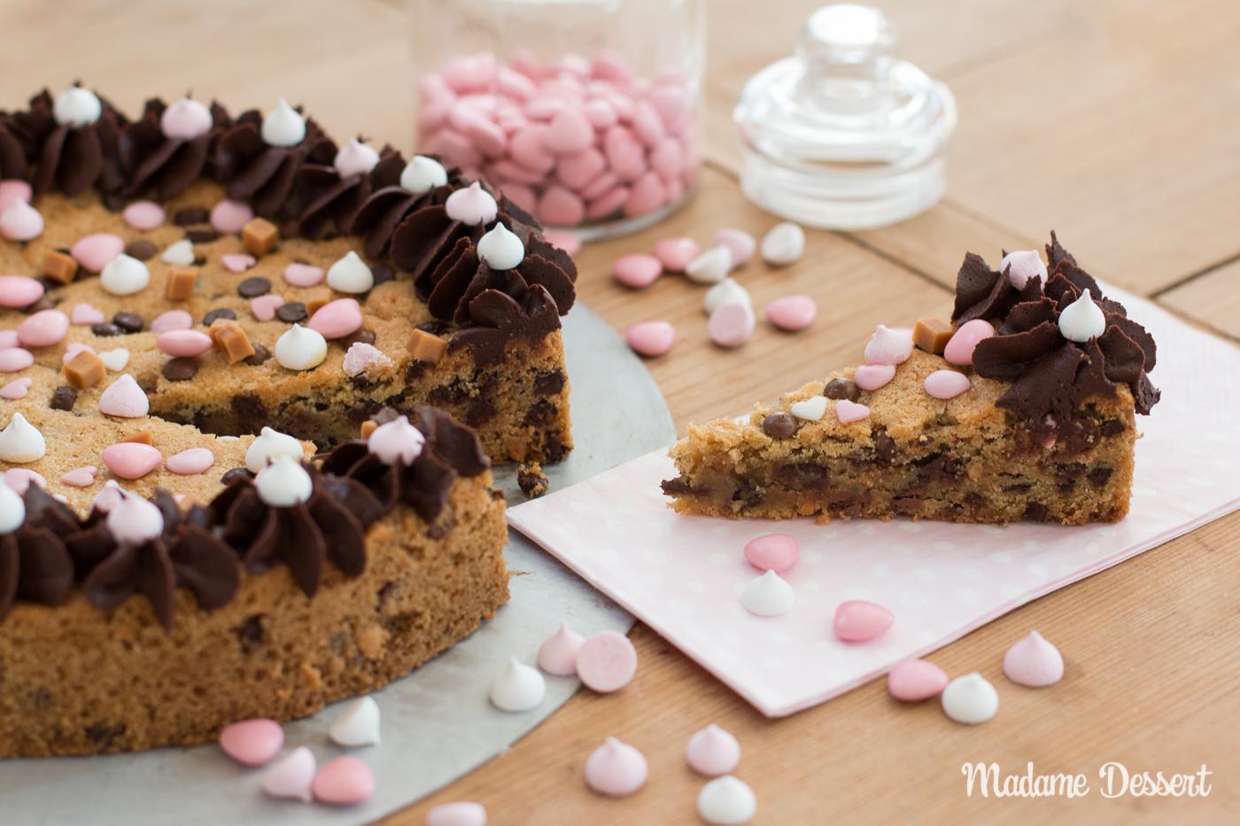 Kekskuchen Cookiecake | Madame Dessert