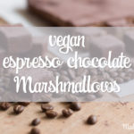 [English] Vegan espresso chocolate Marshmallows for all coffee lovers & chocoholics