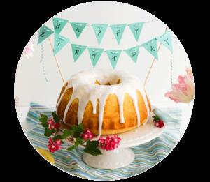 Zitronenkuchen | Sweet 30th - Geburtstag im Schlaraffenland |Madame Dessert