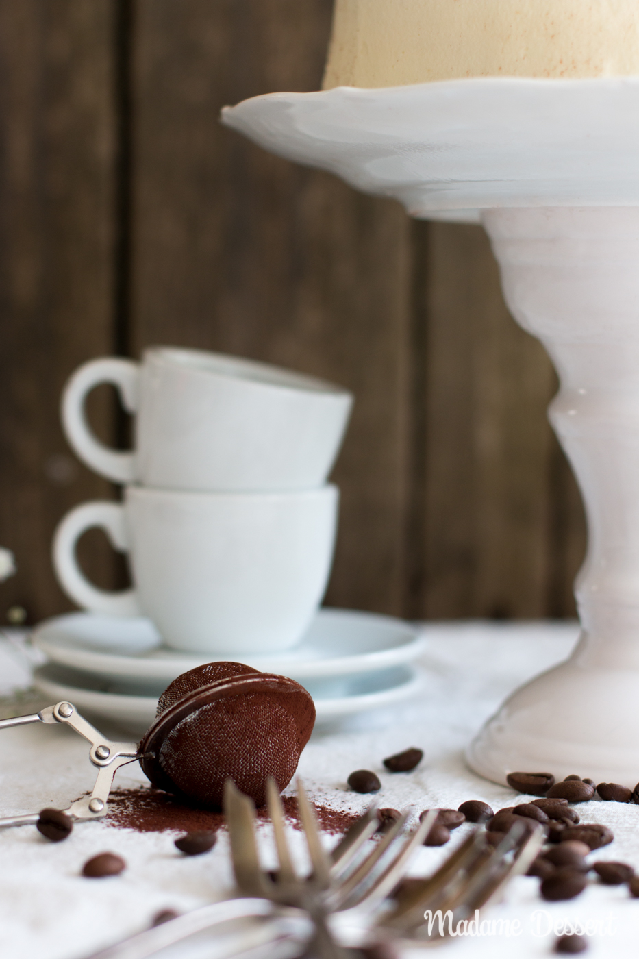 Tiramisu Torta á la Kitchen Impossible | Madame Dessert