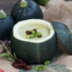 15 Minuten Zucchini Creme Suppe in der Rondini Zucchini