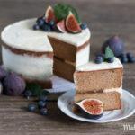 Feinste Honig Feigen Torte mit schwarzem Tee – Meine Hommage an Melissa Forti