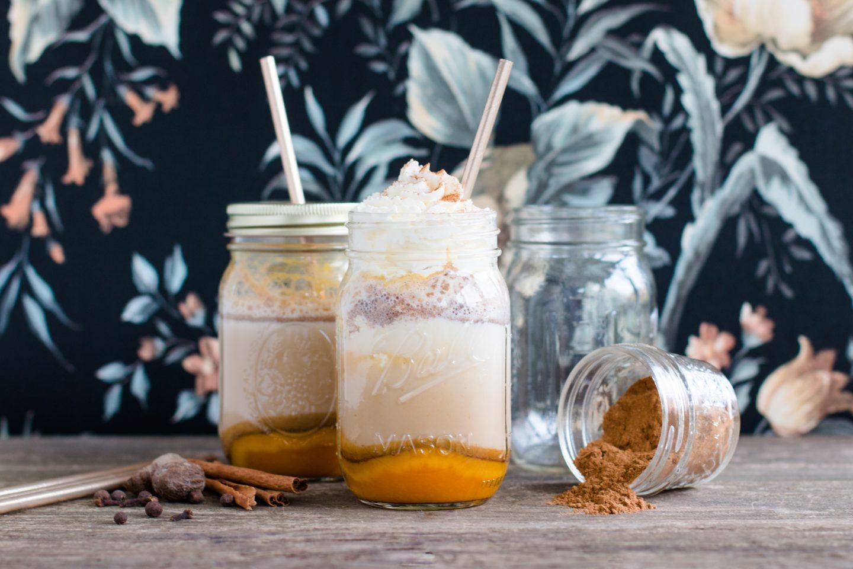 Pumpkin Spice Latte mit DIY Pumpkin Spice Gewürzmischung