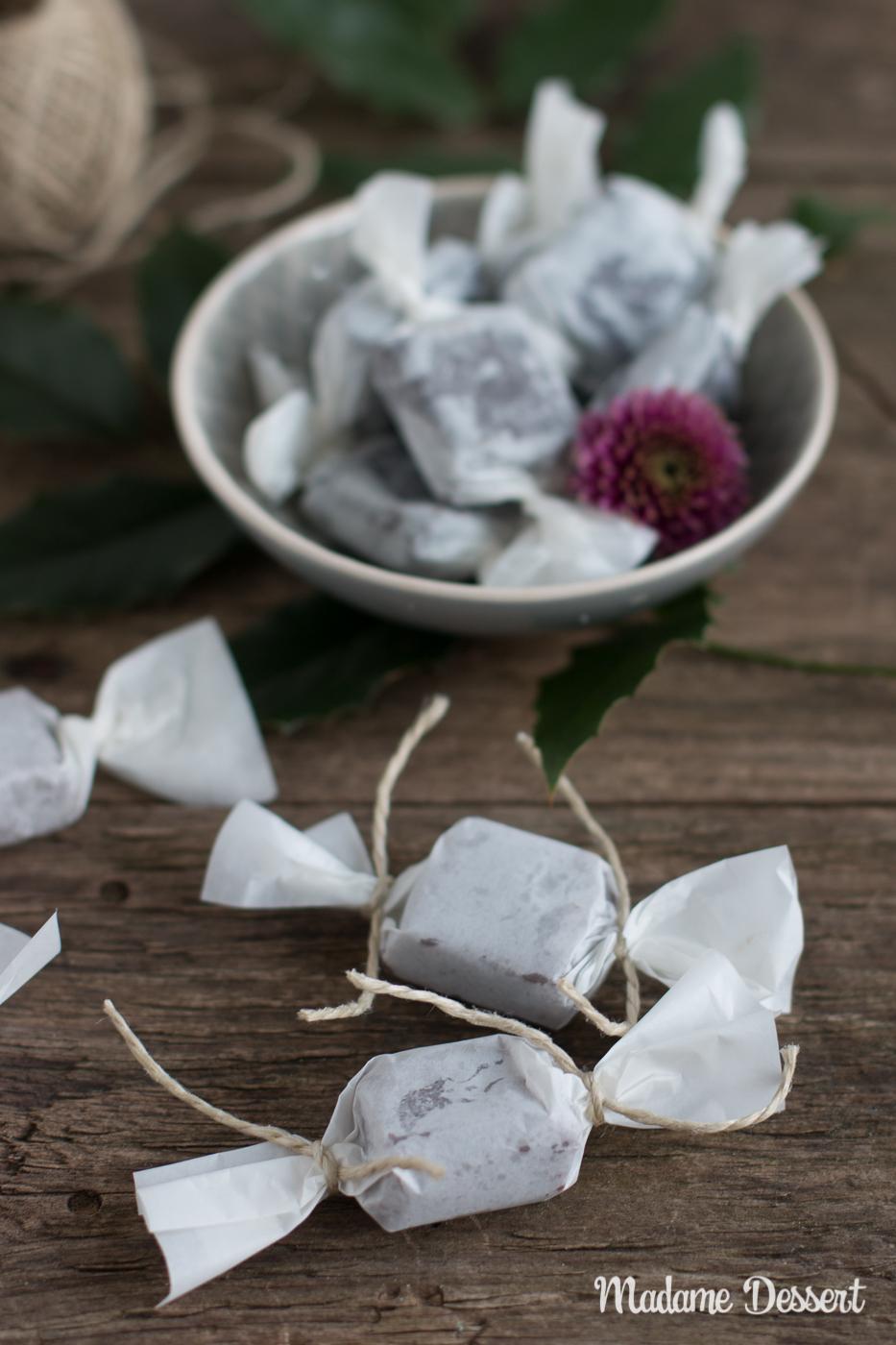Schokoladen-Karamell-Bonbons mit Fleur de Sel | Madame Dessert