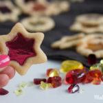 Buntglas Plätzchen – Oh du schöne Weihnachtszeit