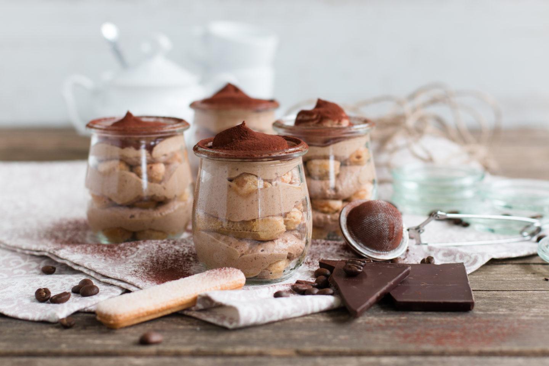 Dekadentes Schokoladen Tiramisu im Glas