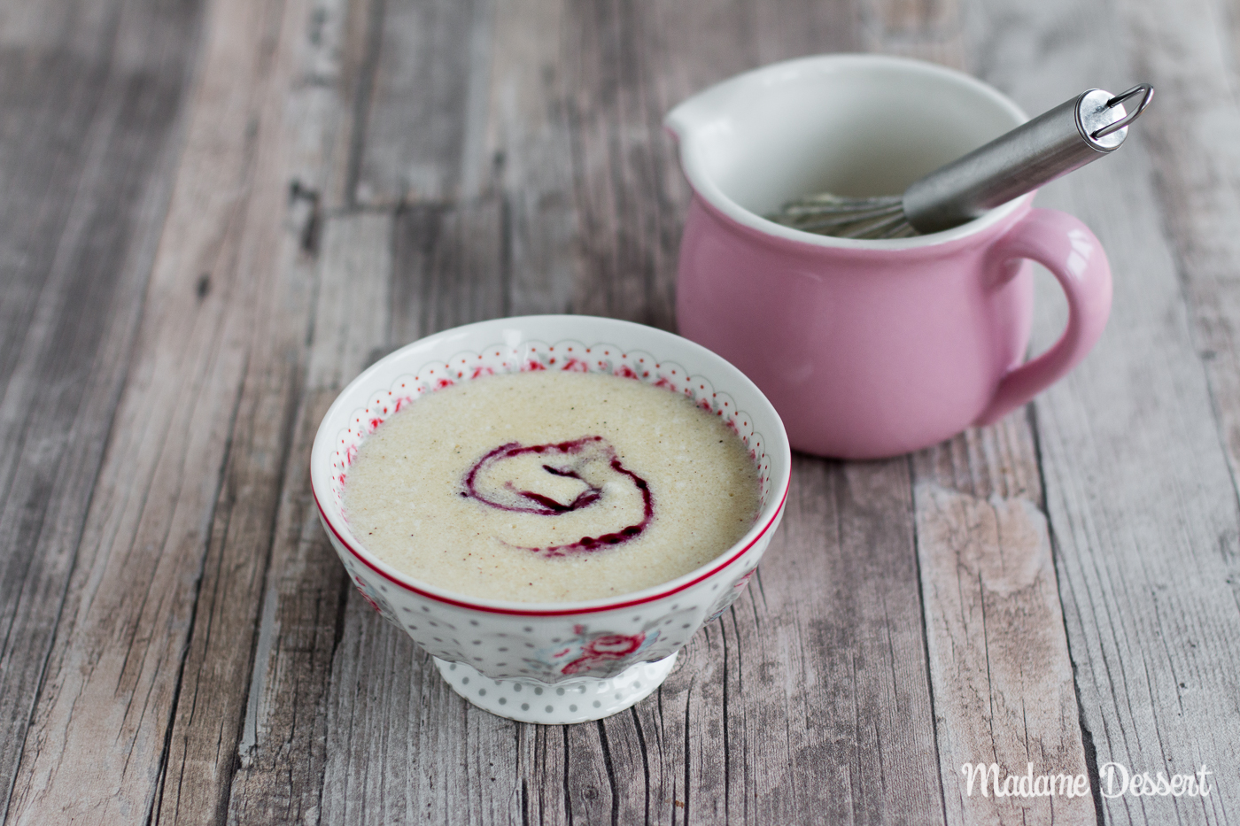 Grießbrei wie bei Oma – luftig, locker, lecker | Madame Dessert