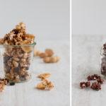 Selbstgemachtes Popcorn mal anders – Schoko-Karamell, Apfel-Zimt oder doch lieber Erdnuss-Schoko-Banane?