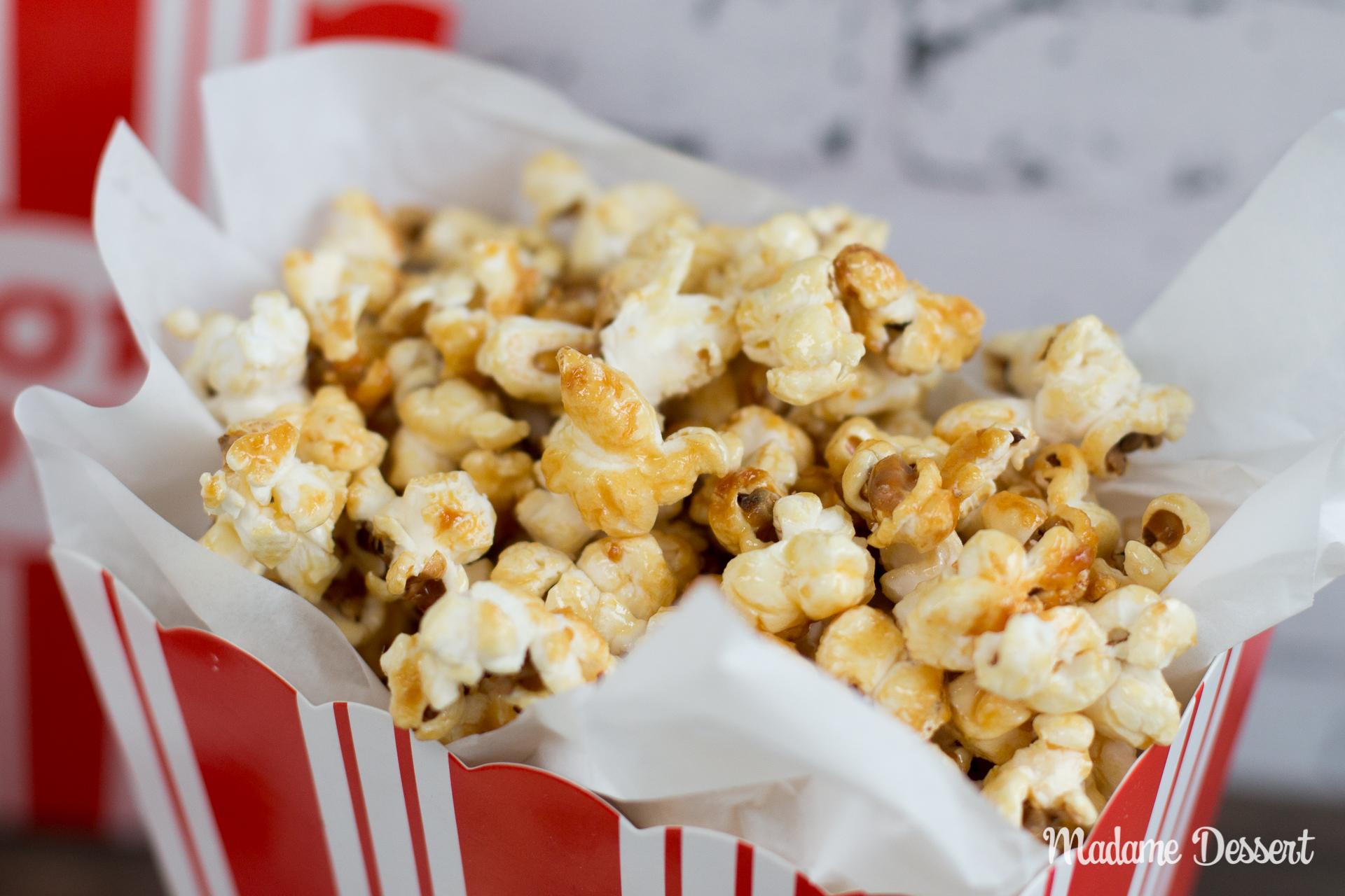 Selbstgemachtes Popcorn wie im Kino | Madame Dessert