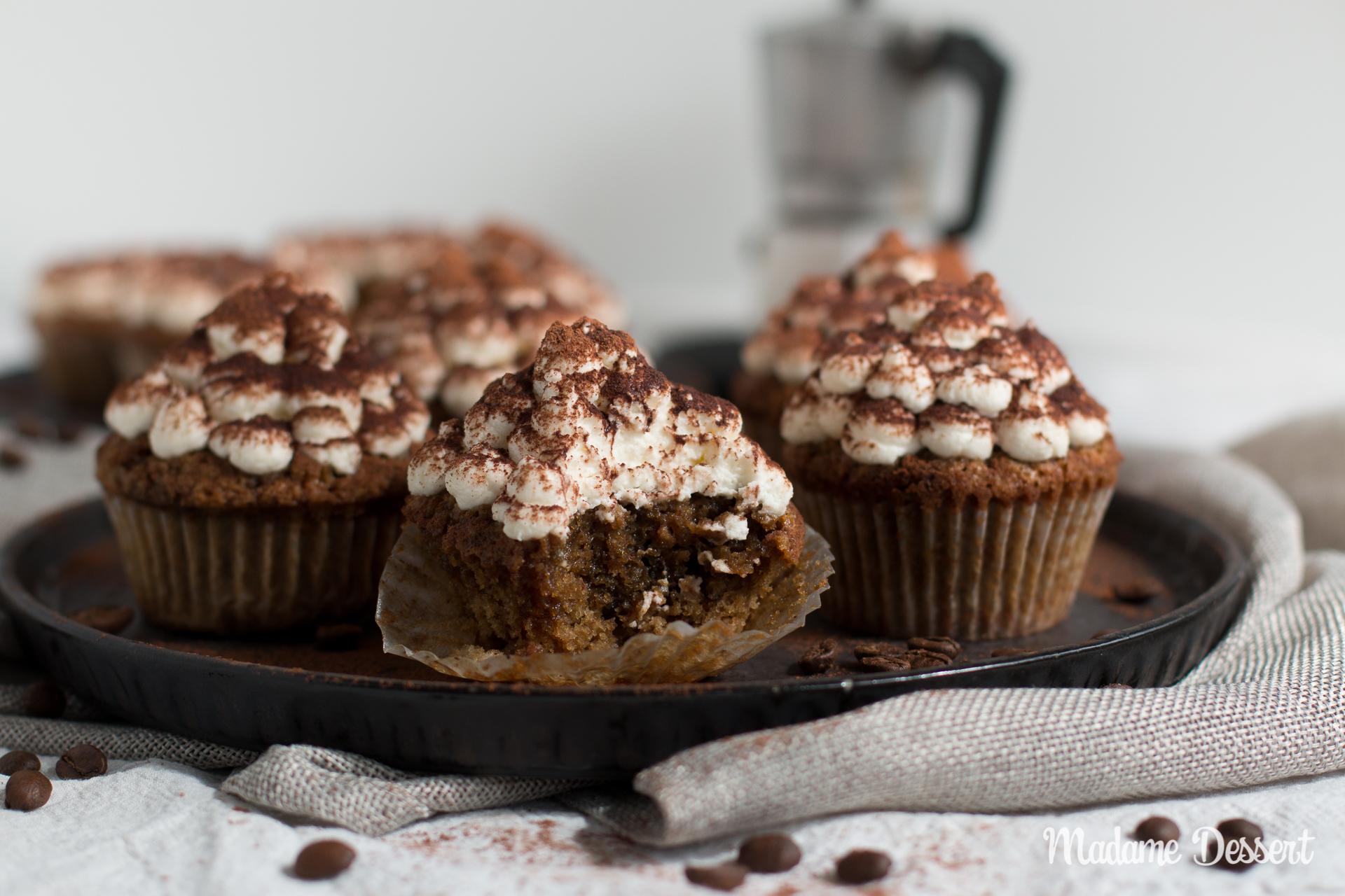 Tiramisu Cupcakes ohne Alkohol   Madame Dessert
