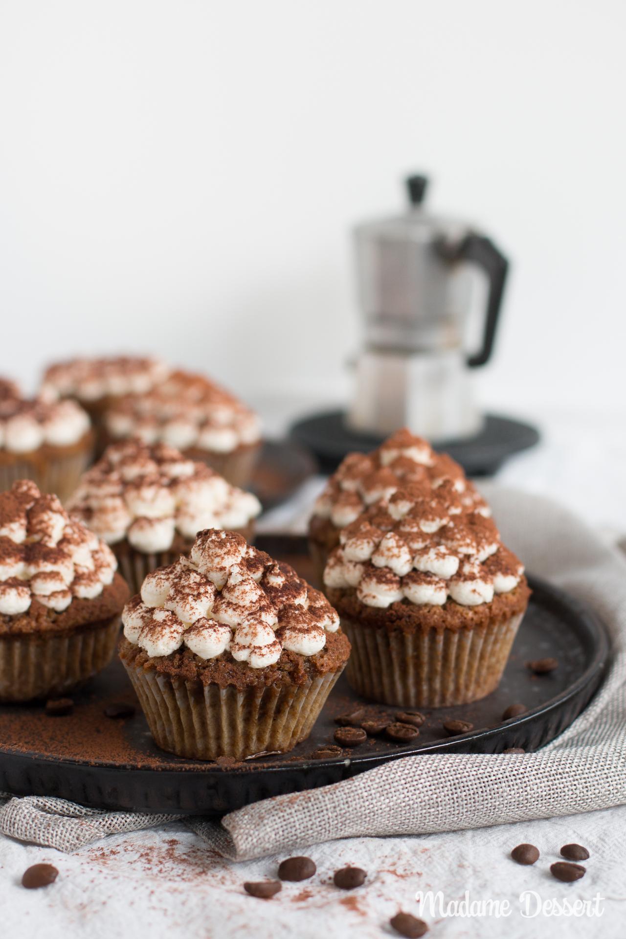 Tiramisu Cupcakes ohne Alkohol | Madame Dessert