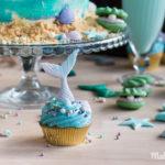 Kleine Meerjungfrauen Cupcakes machen Lust auf Meer