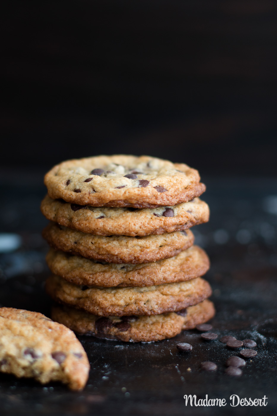 Chewy Chocolate Chip Cookies Rezept | Madame Dessert